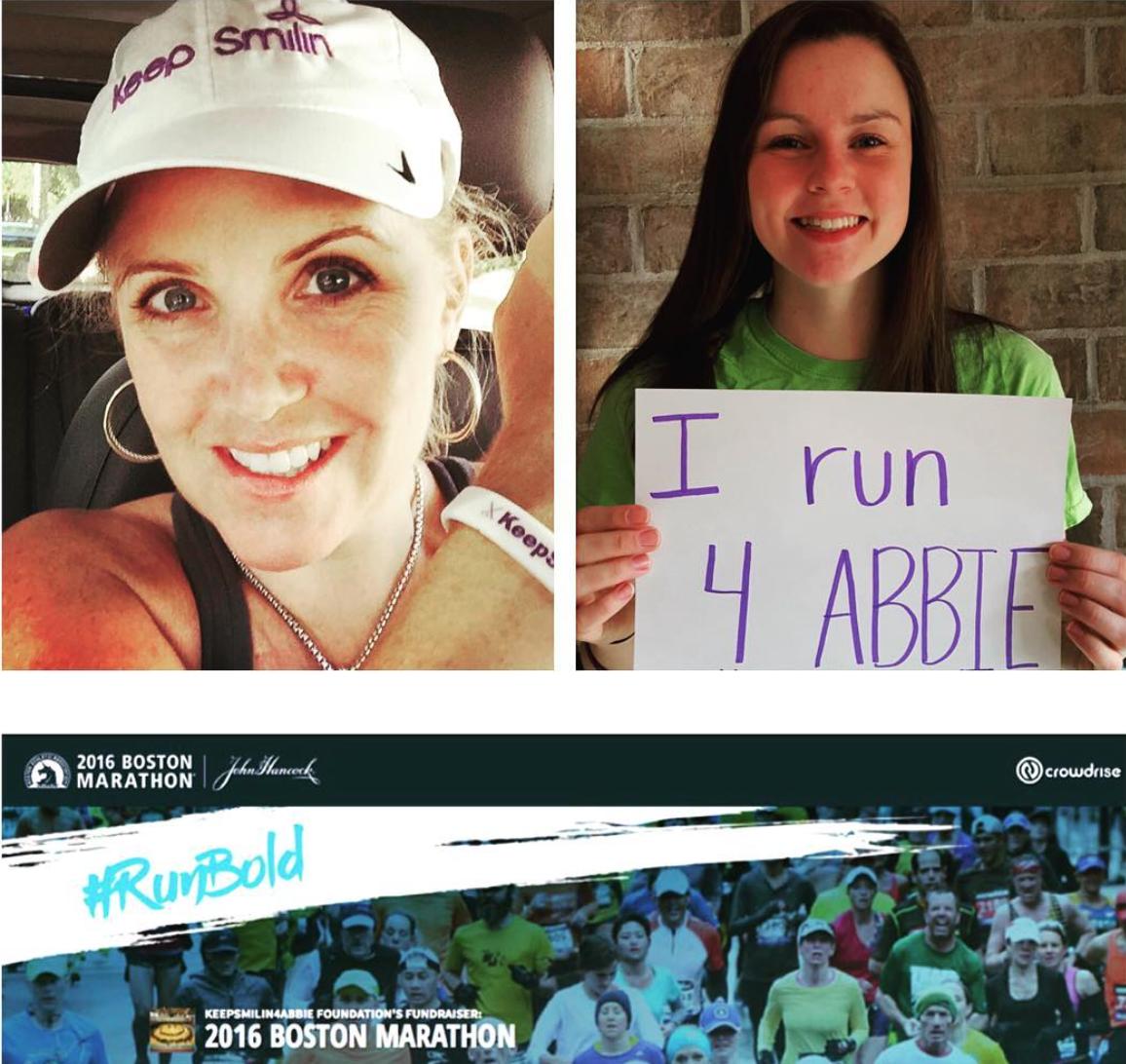 Boston Marathon Run to benefit KeepSmilin'