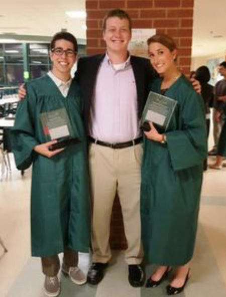 2015 Scholarship: Mike Spector and Whitney Thalheimer