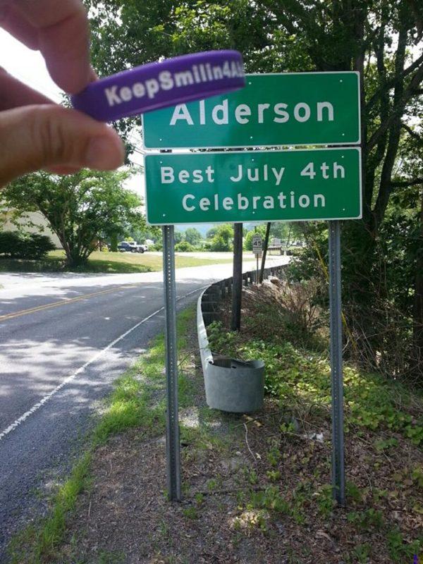 Mary Ellen Duggan @ Alderson, West Virginia.