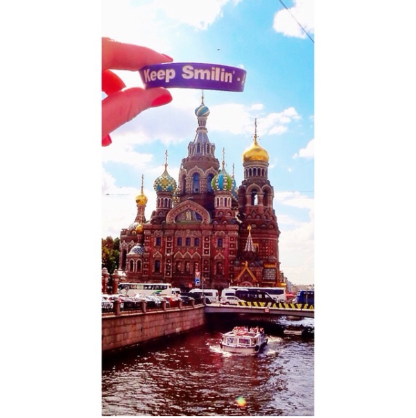 Erica Hudson @ Saint Petersburg, Russia