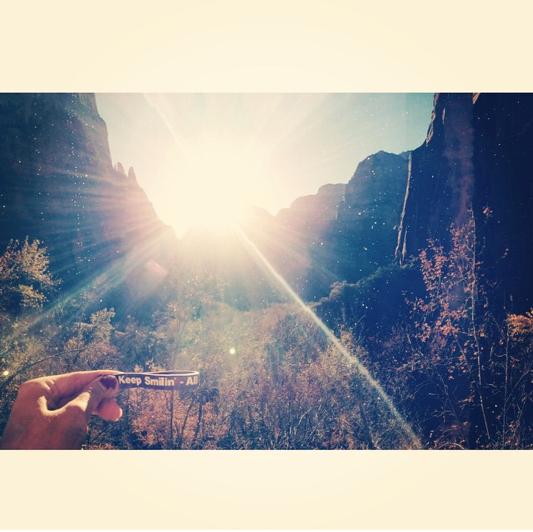 Camryn Boyce @ Zion National Park, Utah