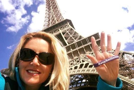 Lisa Nickerson @ Eiffel Tower, Paris