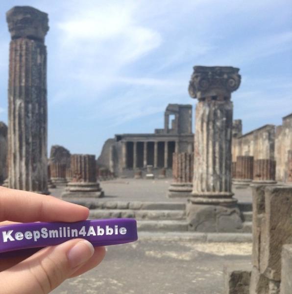 Rachel Mclean @ Pompeii, Italy