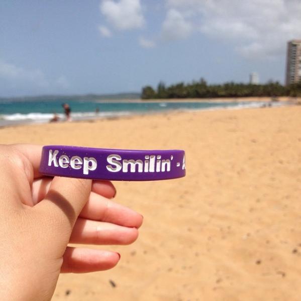 Kora Sileo @ Luquillo Beach, Puerto Rico